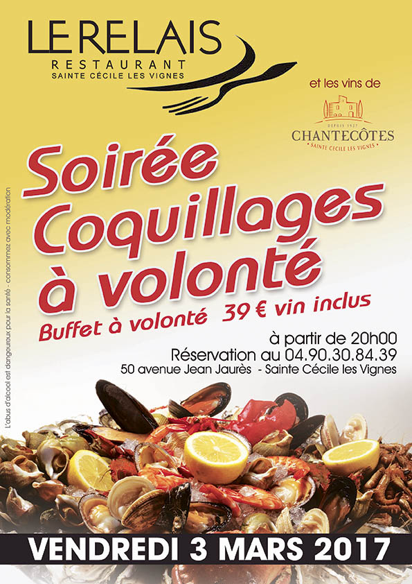 COQUILLAGES MARS 2017