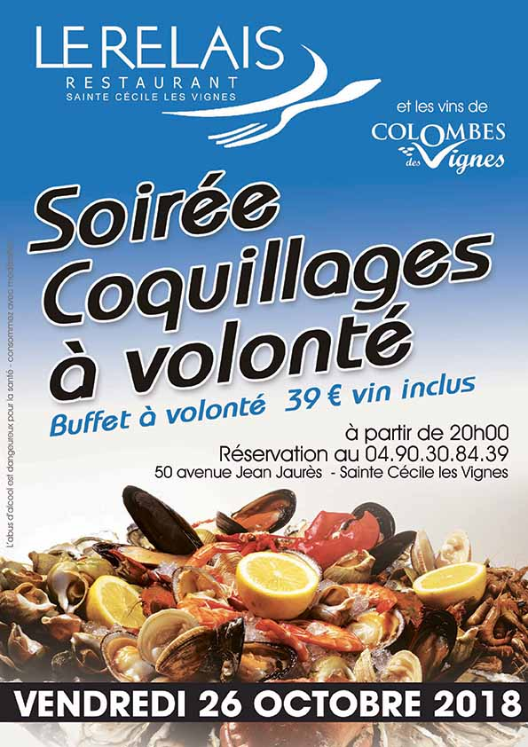 COQUILLAGES OCTOBRE 2018